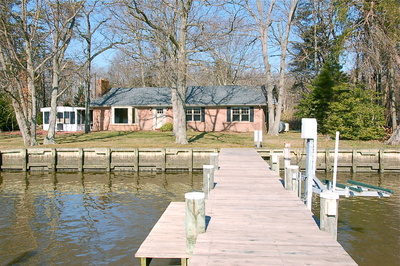 Waterfront Eastern Shore Home